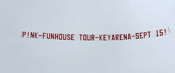 P!nk - Funhouse Tour - Key Arena