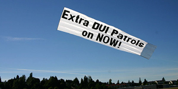 Extra DUI Patrols on Now!